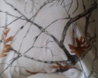Winter Camouflage pillowcase