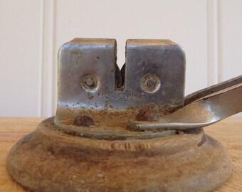 Vintage knife sharpener