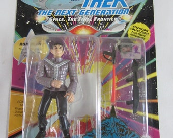 Vintage 1992 Star Trek the Next Generation Romulan Action Figure