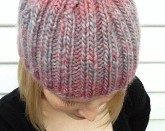 Knitted beanie 100% Australian wool