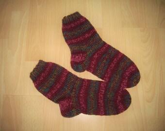 Thick socks, wool socks, hand knitted, Gr. 36 / 37