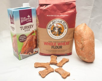 Holiday Dinner Dog Treats