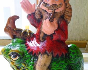 IMP on Kröte-ceramics