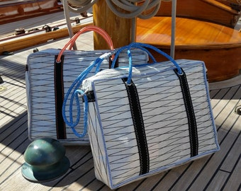 Bag canvas sail, with adjustable shoulder strap bag