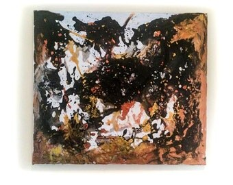 Black Hole - Avant Garde Acrylic Painting