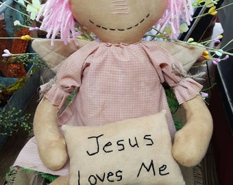 "17"" Jesus Loves Me Doll"