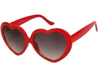 Heart Shaped Lolita Sunglasses