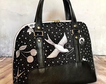 Custom Made Boronia Bowler Bag