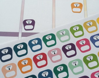 Sclaes stickers for ec, ppp, diary,planner