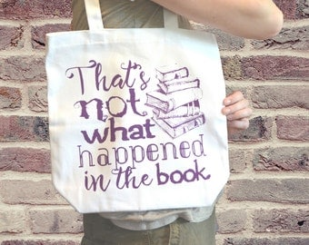 Book Lovers Cotton Tote Bag