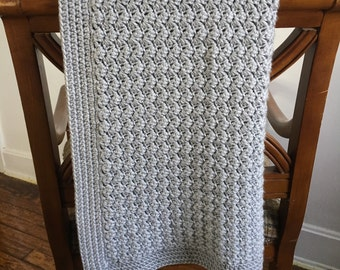Super Soft Crochet Baby Blanket