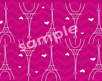 Sofs offers TWO postcard for all Paris lovers. ONE purple and ONE pink