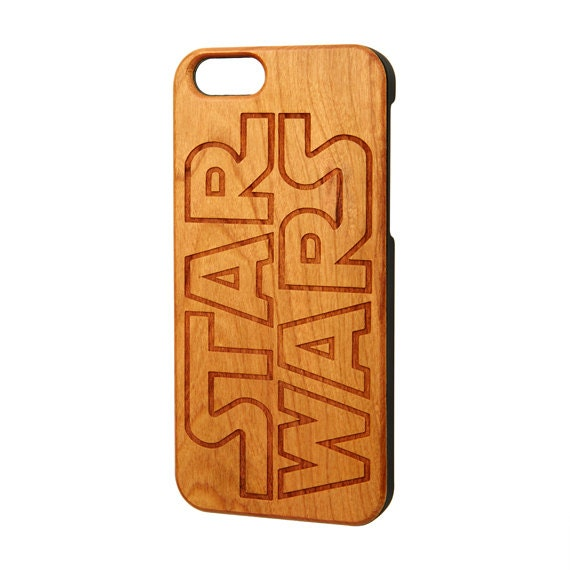 Star Wars iPhone case, Wood iPhone 6 case, iPhone 6s case, wood iPhone 6 plus case, Galaxy S6 Edge case, iPhone cases, Free Shipping