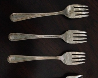 Newport Silver plate Forks