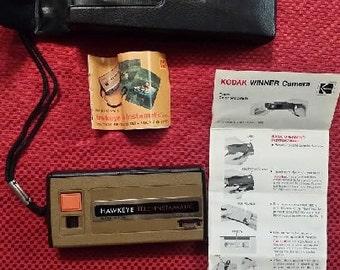 Vintage 1970's Kodak Hawkeye Tele-Instamatic Camera