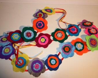 Handmade Felt Bunting