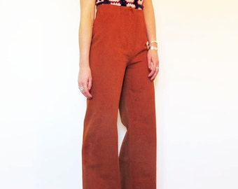 Rust Cord Flares