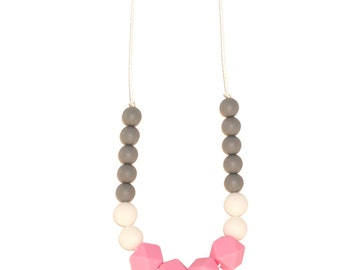 BiteBaby Baby Teether Necklace - Esmerelda