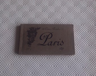 DISCOUNT 24 cards old postcards of Paris 1910