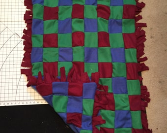 Quilted Blanket (double sided with fringe)