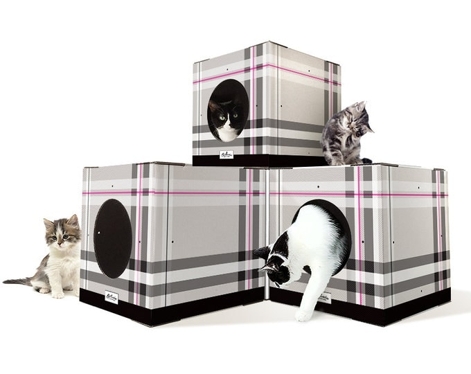 Cat box house diy