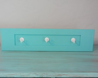 Turquoise decorative wall hanger
