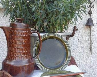vintage coffee pot~Wedgwood pennine coffee pot~Wedgwood coffee pot~brown vintage coffee pot~vintage tableware~coffee pot~vintage~wedgwood