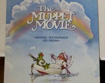 The Muppet Movie Original Soundtrack LP Record Near Mint w/ Rainbow Connection Jim Henson Muppets OST Vinyl Album Kermit Canadian Pressing