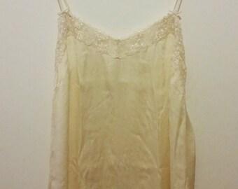 Vintage Silk Slip