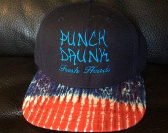 Tie dye Punch Drunk SnapBack FreshHeadsClothing