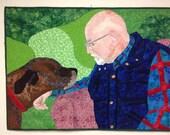 Portrait Quilt Art using Personal Photos