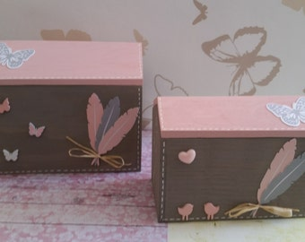 box storage jewelry home decor for daughter