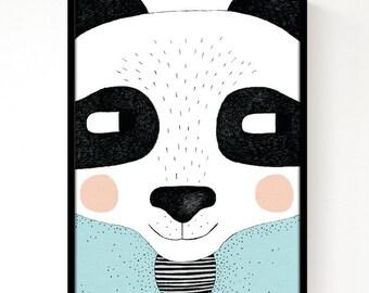 Big Panda Print A3