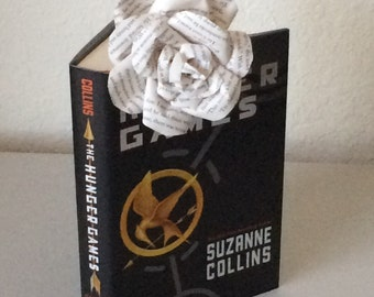 Hunger Games Book Roses