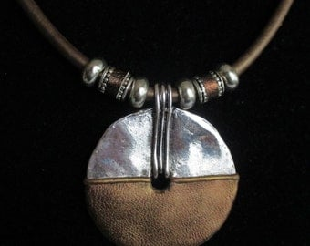 planet earth necklace N4