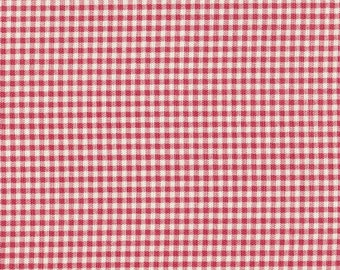 Full Comforter, Faded Rose Pink Gingham Check, Reversible