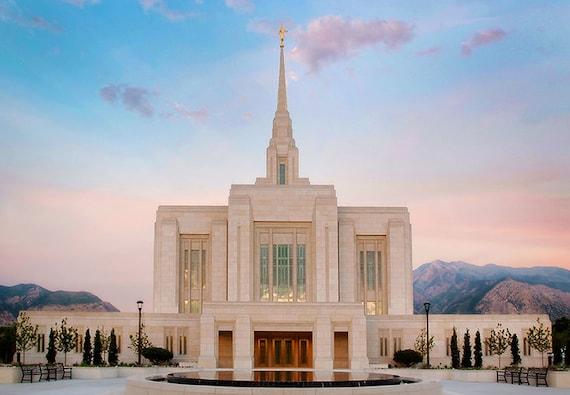 Ogden Utah Lds Temple Mormon Temple Lds By Fancifulimpressions
