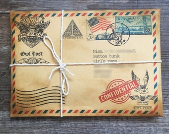 Harry Potter Acceptance Letter Etsy