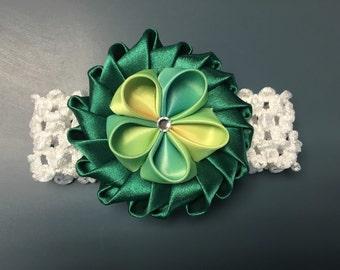 St.Patricks Day Baby Headband