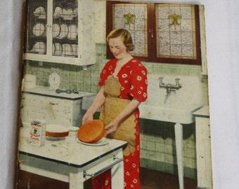 Vintage Cookbook - Adventures in Kitchencraft - 1935