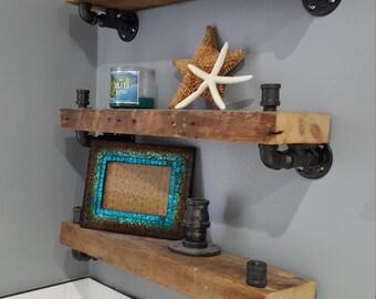 """Reclaimed Wood Custom Shelves 18"""""""