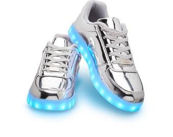Partyshoe sneaker Silver