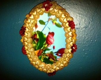 Shabby chic blooming flower