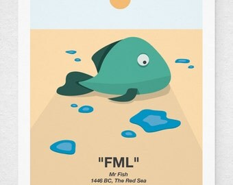 FML Fish Print