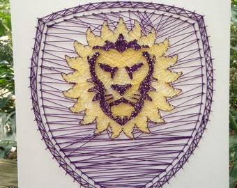 Orlando City Soccer String Art