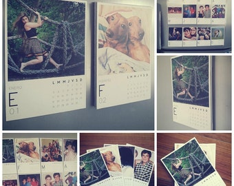 Magnetic Calendar. Personalised, customized, perfect gift