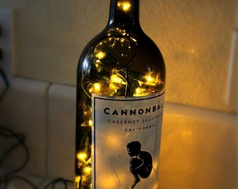 Recycled/Upcycled Bottle Lights