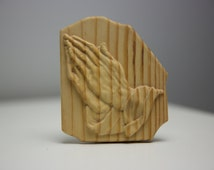 Hands in Prayer Pine not finished.