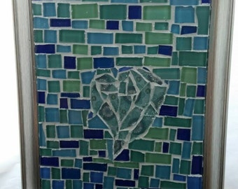 Mosaic Picture frame- Heart