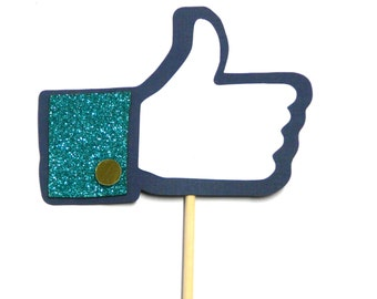"""Photo Booth Props -  1PC Facebook """"Like"""" Finger Photo Booth Props"""